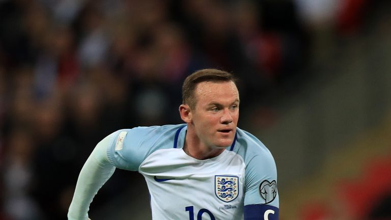 File photo dated 08-10-2016 of England's Wayne Rooney.