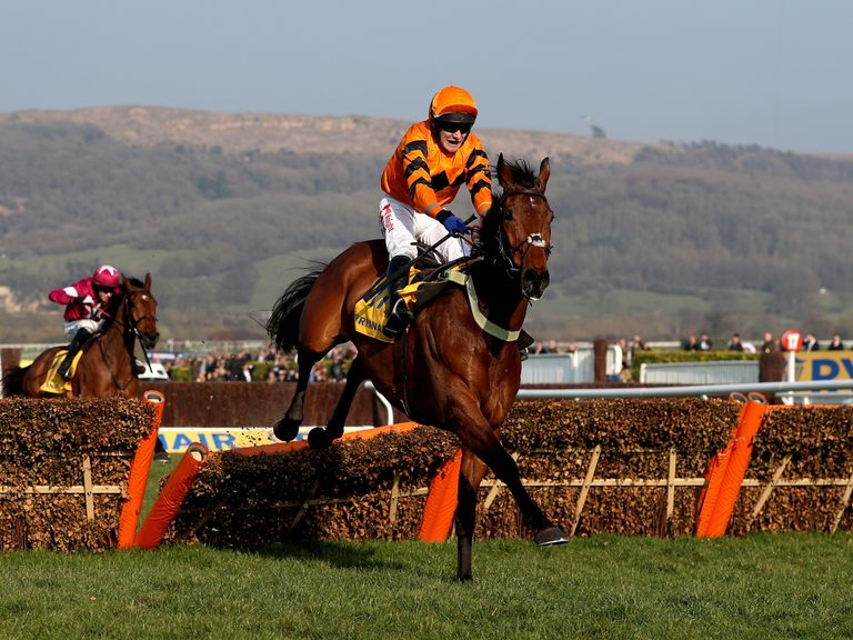 Alpha des Obeaux chses home Thistlecrack in last season's... err... World Hurdle.