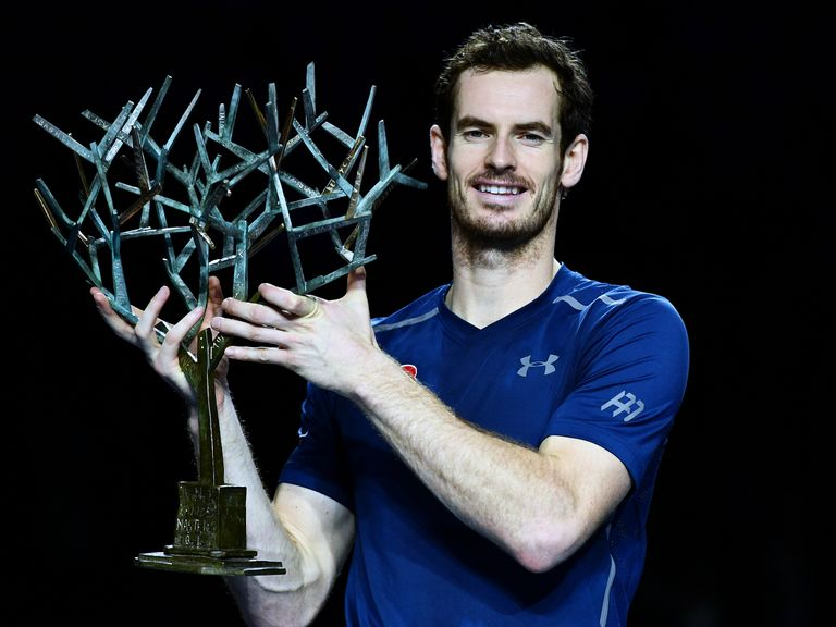 World number one Murray wins Paris Masters