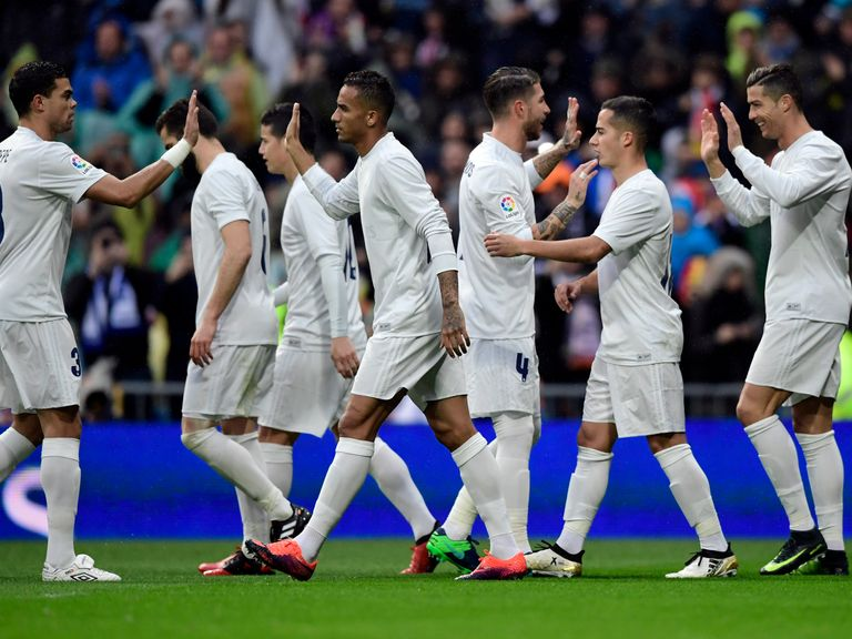 Ronaldo's double extends Real's lead over Barcelona