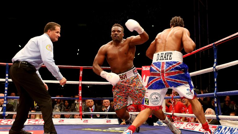 Haye KO'd Chisora four-and-a-half years before fighting Bellew
