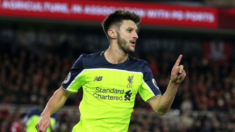 Adam Lallana has established himself at Liverpool