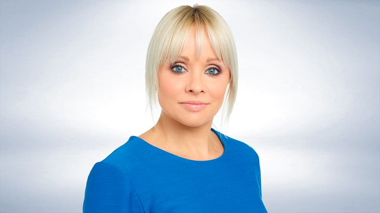Sky Sports presenter Alex Hammond