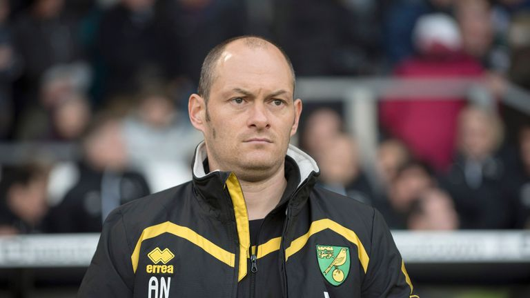 Alex Neil guided Norwich to promotion to the Premier League in his first season at the club