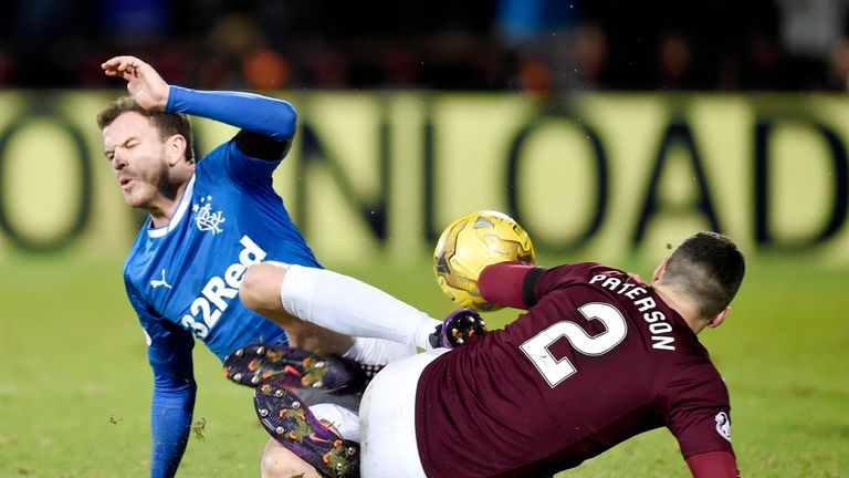 Halliday says Rangers players had a heated discussion following their loss to Hearts