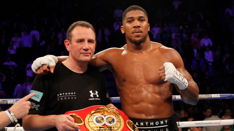 Trainer Robert McCracken was not impressed with Anthony Joshua's win over Wladimir Klitschko