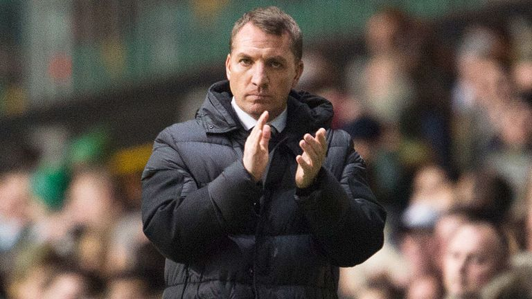 Celtic manager Brendan Rodgers was disappointed with the playing surface at Celtic Park