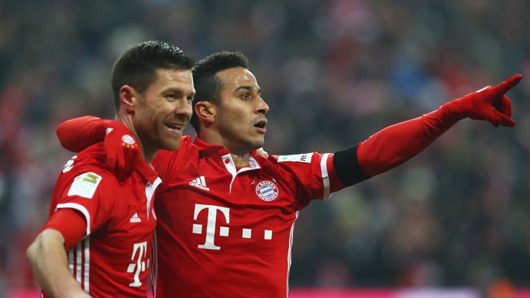 Xabi Alonso is still a key part of Bayern Munich's midfield