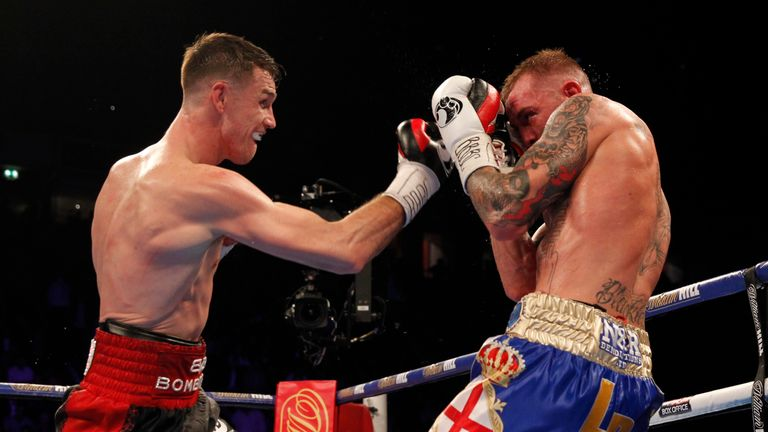 Smith stopped Luke Blackledge in his last fight in December