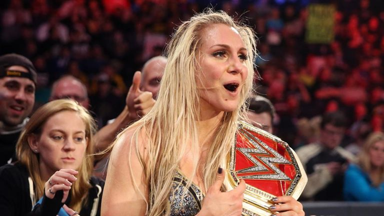 Charlotte is the reigning four-time Raw Women's Champion
