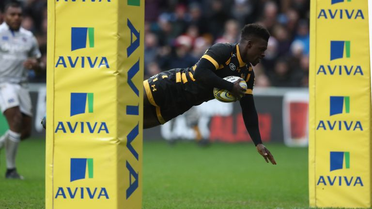 Christian Wade has been in prolific form for Wasps