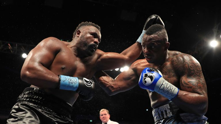 Whyte won a bruising encounter against Dereck Chisora in December