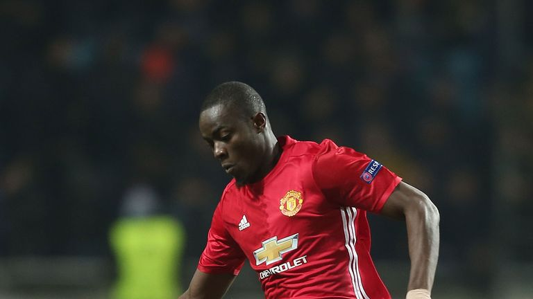 Manchester United defender Eric Bailly covers 7.99 km per 90 minutes on average