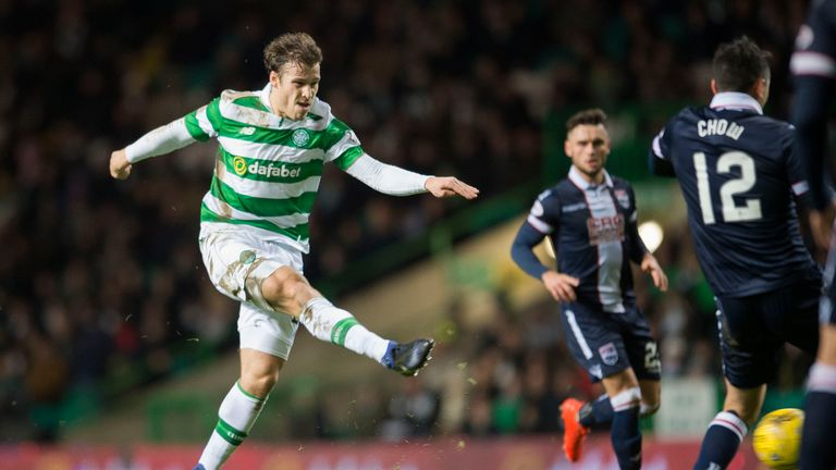 Celtic's Erik Sviatchenko opened the scoring