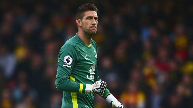 Maarten Stekelenburg lost the No 1 spot at Everton to Joel Robles in the second half of the season