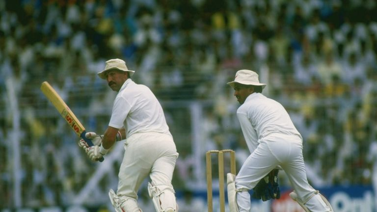 Graham Gooch helped guide England through to another World Cup final with his semi-final century in 1987