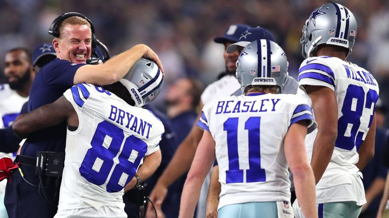 Bryant leaves the Cowboys with a much changed receiving corps as they prepare for the 2018 season