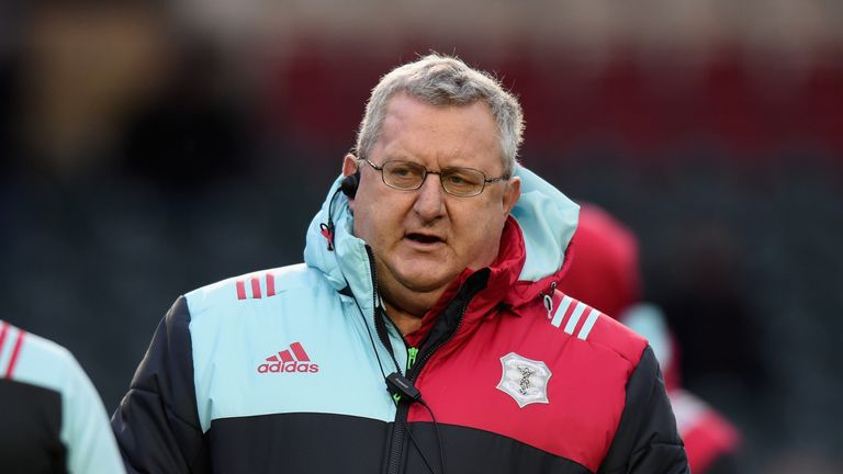 John Kingston, Harlequins director of rugby, is delighted Elia Elia has joined