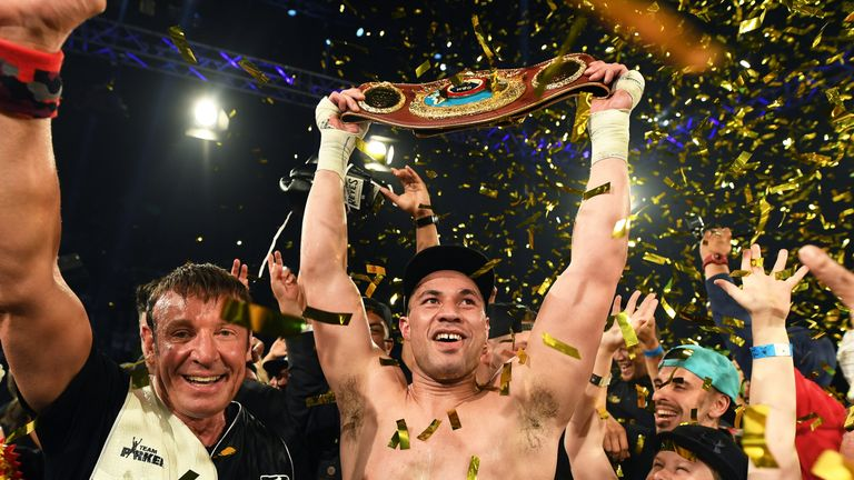 Joseph Parker holds the WBO world heavyweight title