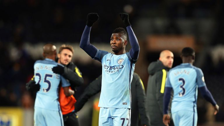 Kelechi Iheanacho scored in Man City's win over Hull