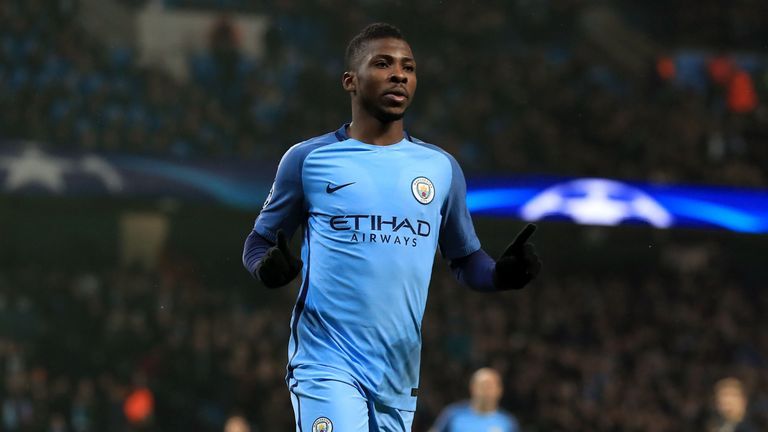 Manchester City's Kelechi Iheanacho could be on his way to Leicester