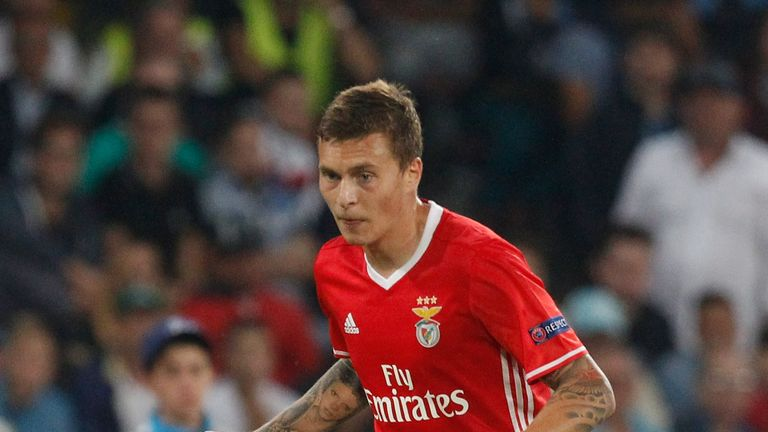 Victor Lindelof is in Manchester for his medical
