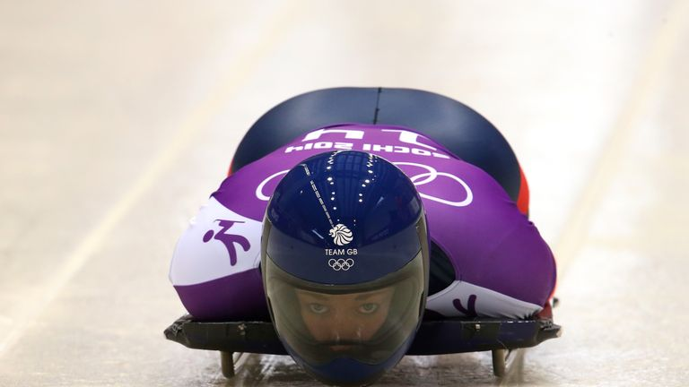 Lizzy Yarnold is February's Sportswoman of the Month