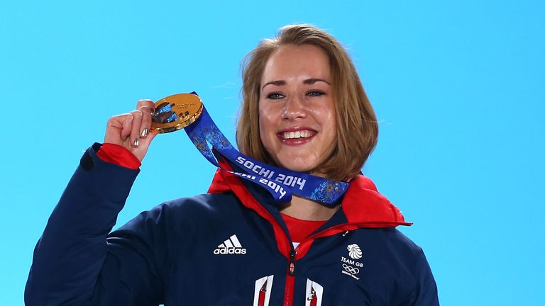 Lizzy Yarnold is more determined than ever to successfully defend her Olympic title in Pyeongchang in 2018