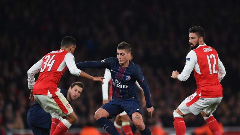 Marco Verratti is being targetted by Barcelona, says Balague