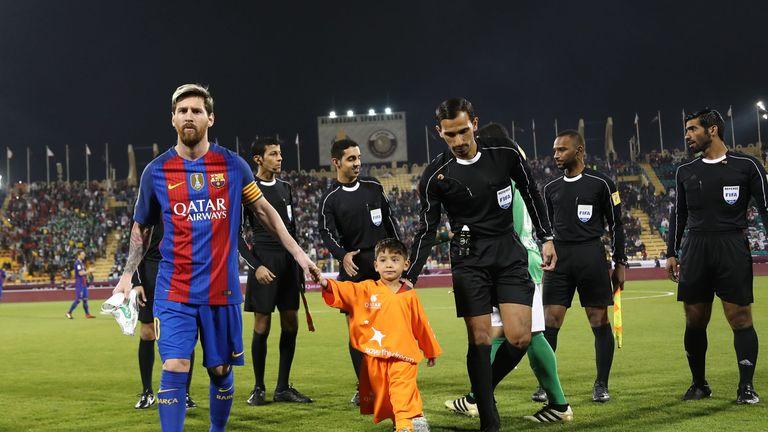 Image result for How Six-Year-Old Afghan Boy Murtaza Ahmadi Finally Met His 'Hero' Lionel Messi