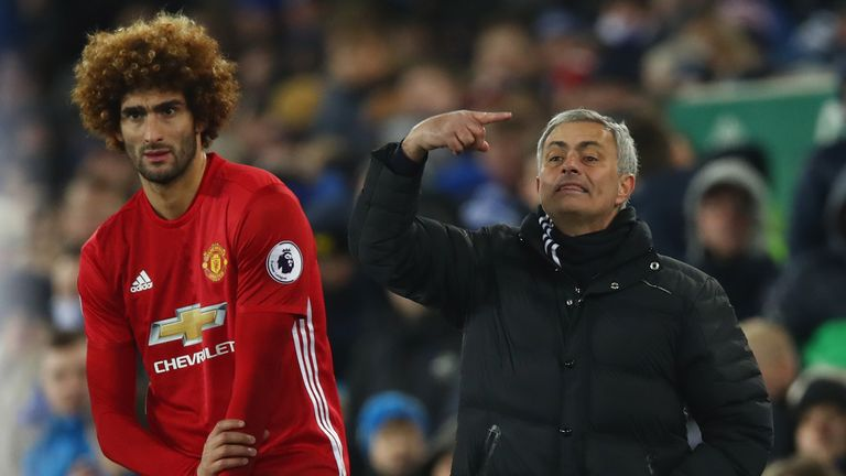 Mourinho's United side are in sixth, four points off fourth
