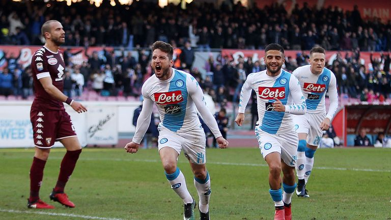 Lorenzo Insigne and Dries Mertens are set to start in Madrid