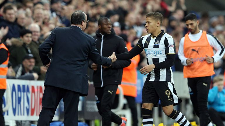 Benitez signed Dwight Gayle from Crystal Palace last summer