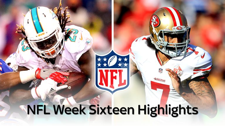 All The Nfl Highlights From Week 16 Nfl News Sky Sports