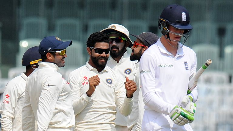 England slumped to a 4-0 Test defeat against India (Credit: AFP)