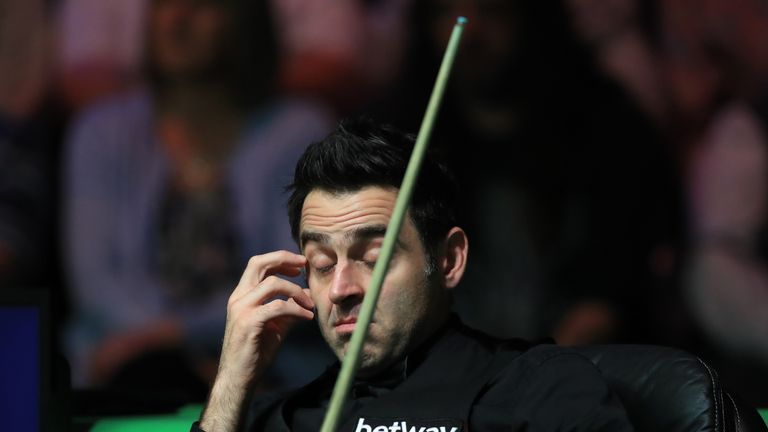 Ronnie O'Sullivan fell short in his bid for a sixth UK title