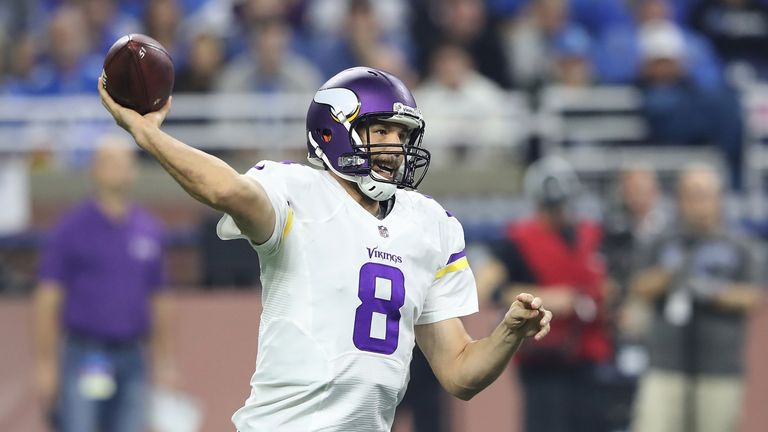 Sam Bradford relied on the Vikings' defence in their 5-0 start but will need to vary their attack if they are to beat the Cowboys