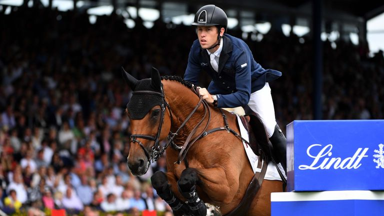 Scott Brash of Great Britain will be in action at Spruce Meadows