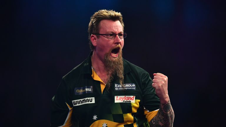 Simon Whitlock will be partnered by Kyle Anderson for Australia