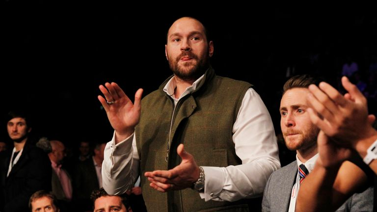 Tyson Fury has announced that he will return to boxing
