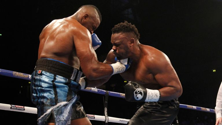 Whyte beat Dereck Chisora on points after a barnstormer in Manchester