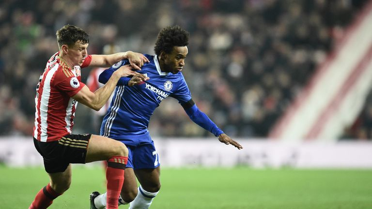 Sunderland and Chelsea cannot move from their positions