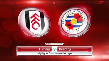 Fulham 5-0 Reading