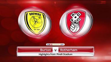 Burton 2-1 Rotherham