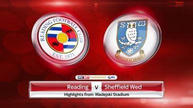 Reading 2-1 Sheff Wed