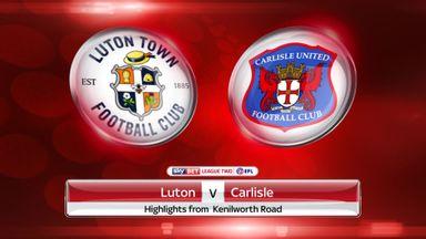 Luton 1-1 Carlisle
