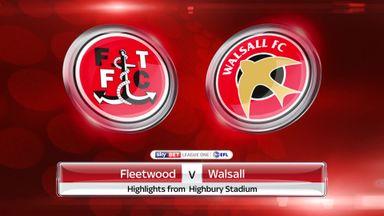 Fleetwood 2-1 Walsall