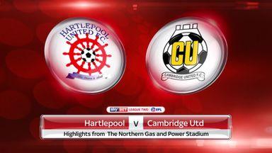 Hartlepool 0-5 Cambridge