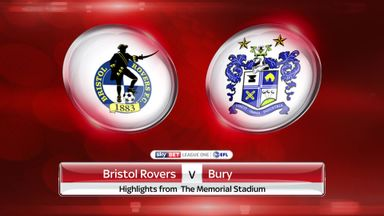 Bristol Rovers 4-2 Bury
