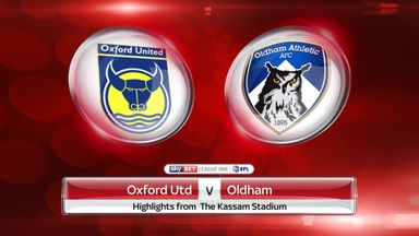 Oxford 1-1 Oldham